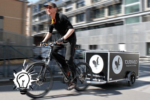 Déménager en vélo (vélo cargo / vélo remorque)